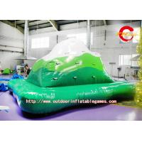 Quality Beach Amusement Giant inflatable floating water toys Rock Climbing for sale
