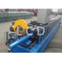 Buy Steel Downpipe Cold Roll Forming Machine 380V 50HZ Customized Weight at wholesale prices