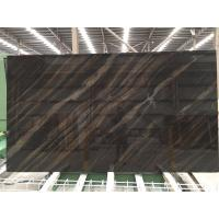 Quality Elegant brown granite marble slab natural stone slab for sale