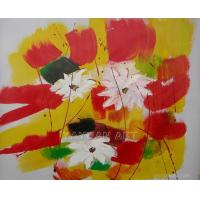Quality flower painting wall picture group painting for sale