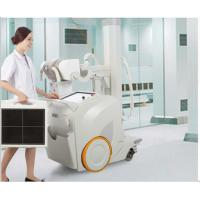 Quality Mobile DR Digital Radiography Machine , 500ma Medical X Ray Equipment for sale