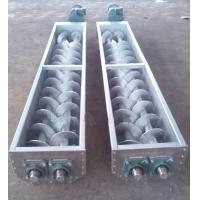 Quality Grain Tubular Screw Conveyor For Sludge Transfer In Sewage Treatment Plant for sale