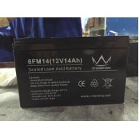 Quality Gray 14ah 12 Voltage High Capacity Lead Acid Battery Rechargeable in Electric Bicycle for sale