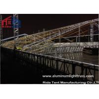 Wedding Party Stage Light Truss , Circular Curved Truss SystemPVC Fabric