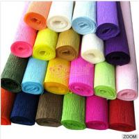 Quality colorful crepe paper for sale