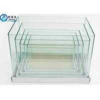 Ultra Clear white Glass Arc 5 In 1 Set Mini Aquarium Fish Tanks Square Customized Fish Tank