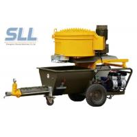 Quality Electric Epoxy Wall Putty Sprayer / Cement Mortar Plastering Machine 2.2kw Power for sale