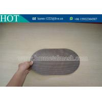 Quality stainless steel mesh metal rimmed filter disc for various filtration of filament synthetic fiber for sale