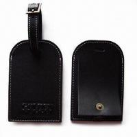 Quality Luggage Tags, Made of Plastic, Suitable for Nominal Quotations for sale