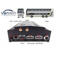 Quality 4 Channel / 8 Channel Mobile DVR Built-In 3G / 4G / WIFI / G-Sensor DVR Security for sale