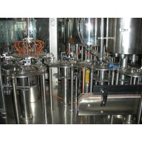 Quality Concentrated Juice Hot Filling Machine SUS304 Material , 6000BPH Pet Bottle 3-in-1 Filling Machine for sale