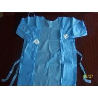 PP / SMS Disposable Medical Gowns , Nonwoven Disposable Cloths Anti Bacteria