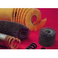 China PP Material Filament Rotary Cleaning Equipment Brushes Spiral Type 2m Width on sale