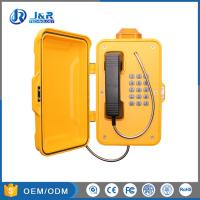 Quality Railway Industrial Weatherproof Telephone Aluminium Weatherproof Case With Alarm Light for sale