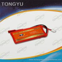 Quality 20C FPV Rechargeable Lithium RC battery Pack 11.1V 450mAh Customized for sale