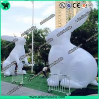 Quality White Inflatable Bunny,Easter Inflatable,Lighting Inflatable Bunny for sale