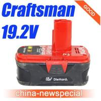 Buy cheap Craftsman Diehard 19.2V Li-Ion Battery 19.2Volt power tool battery 130285003 from wholesalers