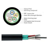 Quality GYTS 32 Cores Fiber Cable/Aerial fiber optic cable installation is a complicated and time-consuming work. for sale
