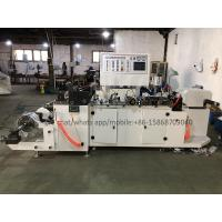 Quality Sleeve Seaming Small Plastic Bag Making Machine With Movable Rewinding Device for sale