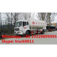 Quality CLW brand hydraulic 10tons animal feed truck for sale, best price hydraulic discharging poultry feed transport truck for sale