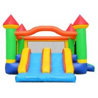 Quality Commercial Inflatable Bouncer Combo / 0.55mm PVC Kids Bouncy Castle for sale