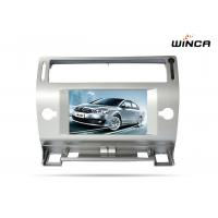 Quality Double Din Car Multimedia player DVD stereo for Peugeot c4 with Capacitive Screen for sale