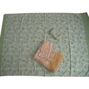 China elegent cotton jacquard terry towel blanket on sale