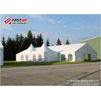 Quality Eco Friendly Air Conditioned Party Tent , Outside Pvc Party Tent for sale