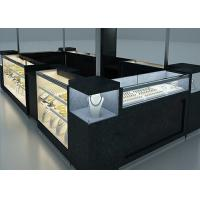 Buy Elegant Appearance Jewelry Showcase Kiosk With Fully - Enclosed Structure at wholesale prices