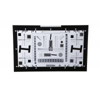 Quality iso 12233 2000 lines camera lens resolution test chart both on paper and glass (chrome print) 0.5x 200mm*356mm 16:9 for sale
