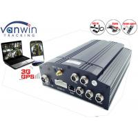 Quality 720P Vehicle camera DVR System for Cars and Taxis Vehicle Camera monitoring system 4 input for sale