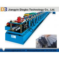 Buy cheap Gcr15 Steel Guard Rail Roll Forming Machine With CE Standard , High Efficiency from wholesalers