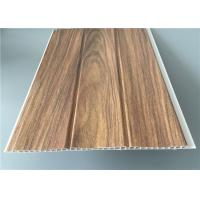 Quality Three Groove Pvc Wall Panels For Office Easy Install Anti Bacterial 25 Cm*8 M for sale