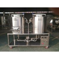 Buy cheap Electrical Heating 100L Micro Beer Brewing Equipment For Home Brewing Simple from wholesalers