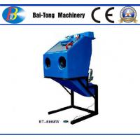 Quality Dustless Reinforced Wet Sandblasting Cabinet Feed Abrasive 4 - 6kg For Fiberglass for sale