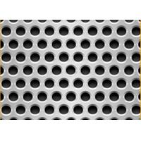 Quality Standard 5mm Hole 8mm Pitch Decorative Stainless Steel Sheets Perforated  For USA, EU, Africa Market for sale