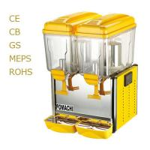 Buy Superior Juice Dispenser Double Tank 2*12 Liter R134 Refrigerant Juice Dispenser at wholesale prices