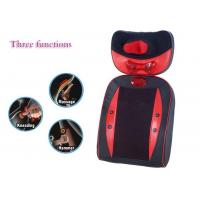 Quality Kneading And Heating Back Massage Chair Pad with 6 heads for back and waist for sale