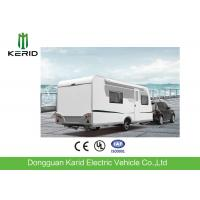 Quality EPA Standard Camper Caravan Trailer With Rear Cooking Cabin Refrigerator for sale