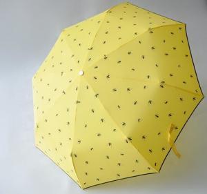 Quality Micro Mini Manual Open Umbrella , Wind Resistant Rain Umbrella8 Durable Ribs for sale