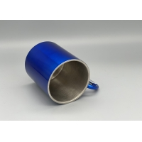 Quality Metal Travel Water Tea Coffee 250ml Rock Climbing Cup for sale