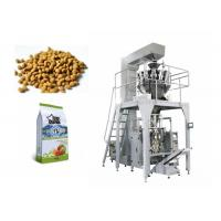 Buy Quad Seal Bag Pet Food Packing Machine Stainless Steel Structure Multi Head Weigher at wholesale prices