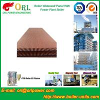 Quality Condensing Gas Boiler Water Walls For Petrochemical Biomass Diesel Boiler Industry for sale