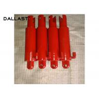 Quality Single Piston Type Hydraulic Cylinder OEM Chrome Small Bore Hollow for sale