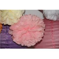 China 8 Yard Tissue Paper Pom Poms Flower Balls for Party Decoration Birthday Paper Decoration on sale