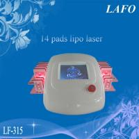 Quality 14 Pads Diode Lipo Laser Fat System for sale