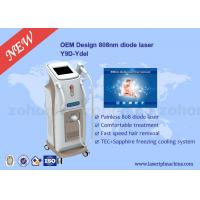 Quality Touch Screen Professional 808 Diode Laser Hair Removal Machine For Body for sale