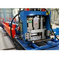 Quality CE / BV CZ Steel Frame Roll Forming Machine Hydraulic Punching Type for sale
