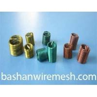 China Color high temperature alloy stainless steel screw wire thread inserts on sale