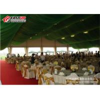 Buy Heavy Duty Structure Recreational Tents 20 X 20 Party Tent With Sides Flame Proof at wholesale prices